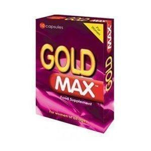 gold max pink 10 capsules