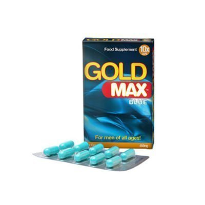 gold max blue 10 capsuels